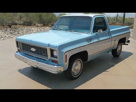 Video of '74 C10 - QE2O