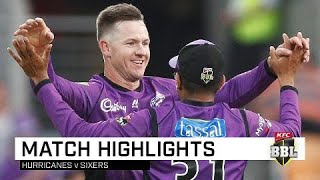 Hurricanes make it five from five | KFC BBL|08