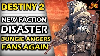 DESTINY 2| NEW FACTION RALLY IS A DISASTER! BUNGIE ANGERS FANS WITH NEW JANUARY 2018 FACTION RALLY