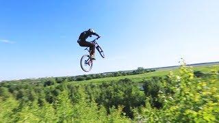 БОЛЬШИЕ ПРЫЖКИ на велосипеде | Воскресенск