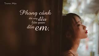 [Vietsub + Pinyin] Phong cảnh đời này đều liên quan đến em - Lão Phàn Cách Vách | 这一生关于你的风景 - 隔壁老樊