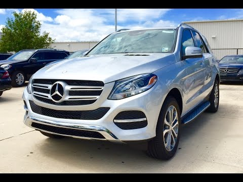 2016 Mercedes Benz GLE Class: GLE 350 SUV Full Review / Exhaust / Start Up