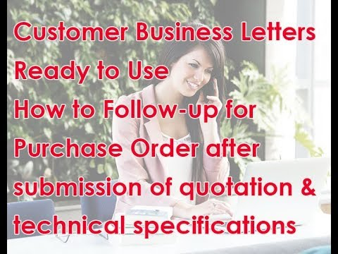 mp4 Follow Up Letter Sample For Business, download Follow Up Letter Sample For Business video klip Follow Up Letter Sample For Business