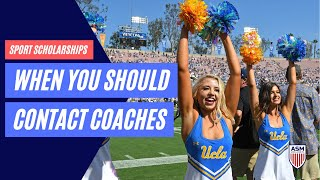 When you should start the college recruiting process?