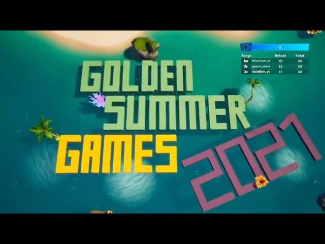Golden Summer Games 2021 !