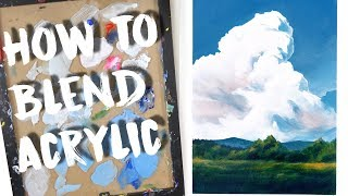 5 Acrylic Painting Techniques