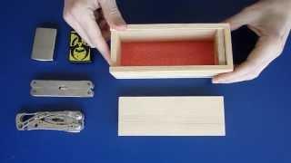 Haz una Caja con Cerradura Secreta ( 2º modelo ) / secret lock box