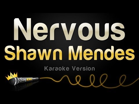 Shawn Mendes - Nervous (Karaoke Version)