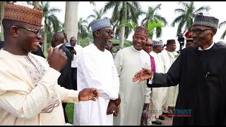 How Osinbajo, others reacted to Buhari's return