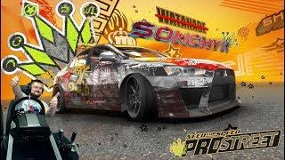 Заруба с финальным Королём Рё Ватанабе Need for Speed: ProStreet на руле Fanatec CSL Elite PS4