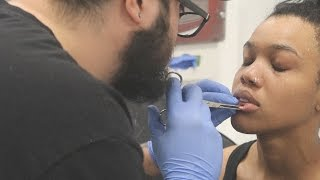 BIANCA PUTS A HOLE IN HER LIP! | Daily Dose S2Ep230