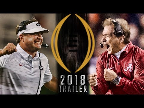 National Championship Trailer 2018 - Alabama vs Georgia