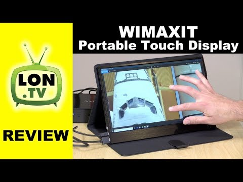 WIMAXIT Portable Touch Monitor / Display Review – 13.3″ IPS 1080p USB powered