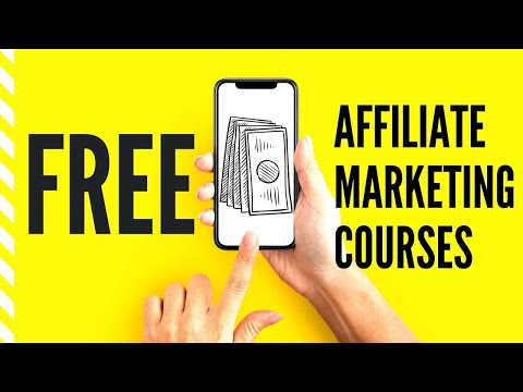 Top Free Affiliate Marketing Courses That I Recommend - YouTube