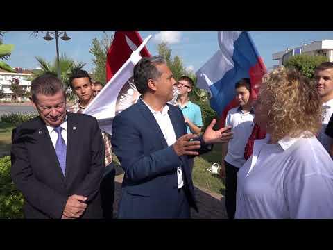 Moskova Milletlerarası Okulu Fidan Dikimi