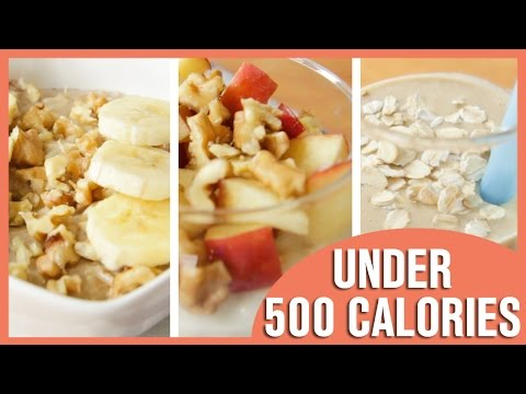 Video 3 Healthy Oatmeal Recipes, Oatmeal For Breakfast
