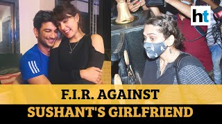Sushant death: FIR against girlfriend Rhea Chakraborty on father complaint - Download this Video in MP3, M4A, WEBM, MP4, 3GP
