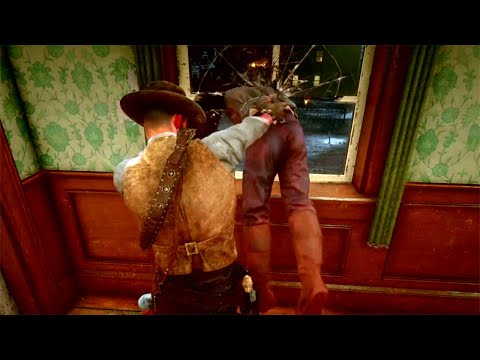 Red Dead Redemption 2 - Saloon Fights Vol.10 (Euphoria Physics)