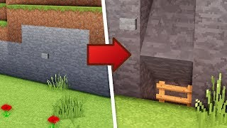Minecraft: How To Build A Survival Secret Base Tutorial #7 (Hidden House)