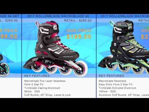 Video: 2017 Rollerblade Womens Inline Skate Buying Guide by InlineSkatesDotCom
