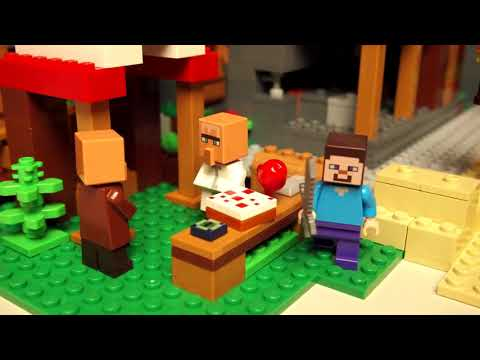 Конструктор Деревня - LEGO 10 Series - фото № 7