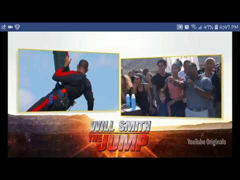 Will Smith Bungee Jumps Grand Canyon from helicopter 9-25-2018