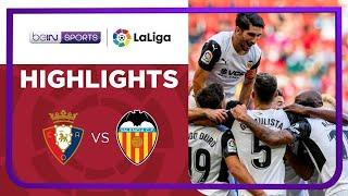 Osasuna 1-4 Valencia Pekan 4