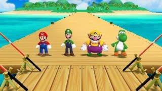 Mario Party 9 - All Mini Games