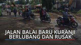 Perbaikan Jalan Lapau Manggis-Balai Baru Kuranji Dimulai, Bapeda Padang: Diaspal Beton Bertulang