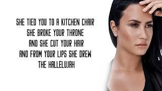 Demi Lovato   Hallelujah Lyrics