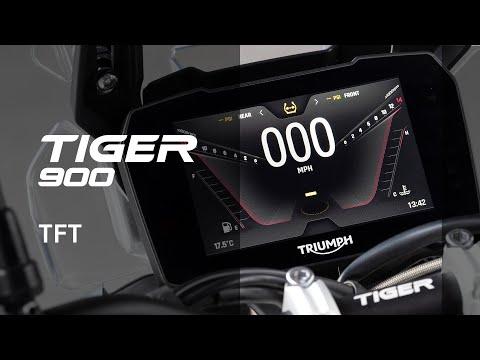 Nueva Triumph Tiger 900 – Novedades TFT