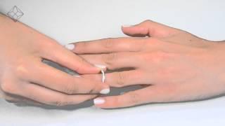 DN3246 - 1.25ct Pave Set Bridal Ring Set In 18K White Gold