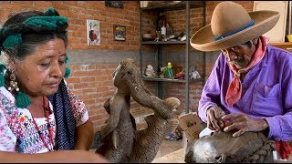 Blind Sculptor In Mexico Inspires With Clay Art Of Indigenous People