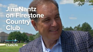 Jim Nance on Firestone Country Club