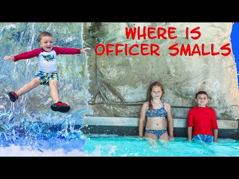 Water Park Fun The  Assistant And Batboy Searches For Officer Smalls