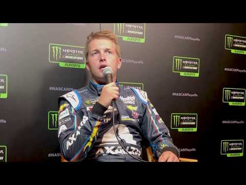 William Byron on how relationship with Chad Knaus has grown   2019 NASCAR Playoffs Media Day