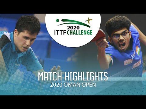 [2020 ITTF Oman Open] Benedek Olah vs Thakkar Manav Vikash  2020.3.14