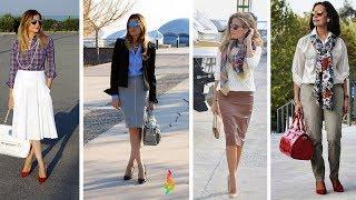 Мода 2018 для женщин 40 50 лет фото 💎 Как одеваться стильно? Модные тенденции 50+ весна лето 2018!