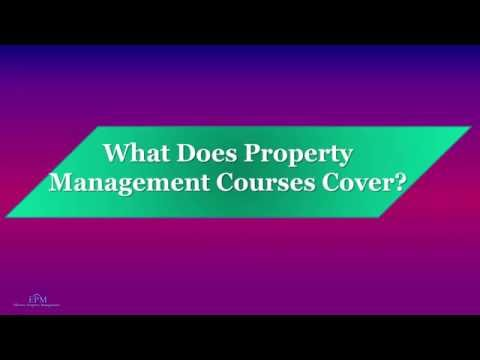 What Does Property Management Courses Cover? - YouTube