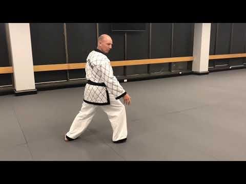 <h3>AHA Black Belt Pung RYU Gwan Movement Pattern</h3>