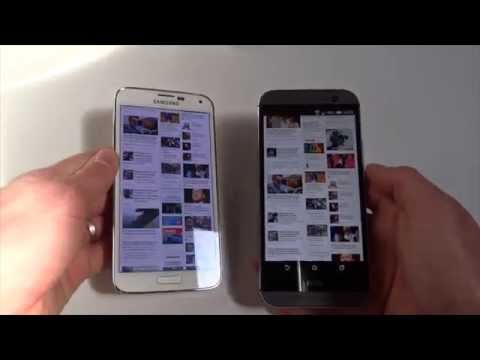 Foto Htc One M8 VS Samsung Galaxy S5, video confronto
