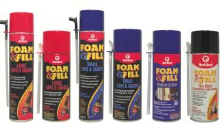 Foam & Fill® Polyurethane Sealant