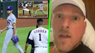 Pat McAfee Reacts To Joe Kelly Throwing At Astros Players