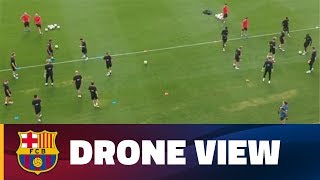 INSIDE TOUR   Barça from the sky with a drone