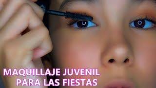 Mi MAQUILLAJE JUVENIL Para Las FIESTAS | Ana Emilia VIDA