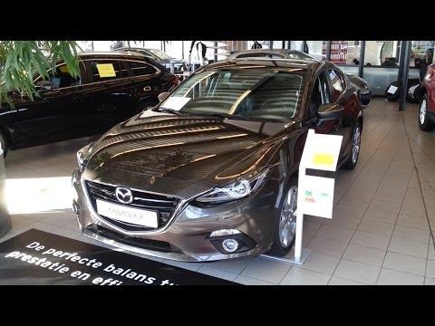 Mazda 3 GTM Sedan Skyactive 2015 In depth review Interior Exterior