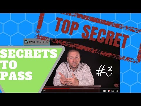 Secrets to Passing the Real Estate Licensing Exam - #3 - YouTube