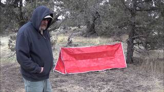 Can This Tube Tent Be Used As Survival Gear?