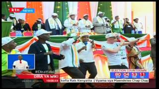 Rais Uhuru Kenyatta atupilia mbali vitisho vya wapinzani-NASA