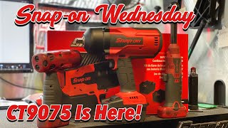 SNAP-ON WEDNESDAY...But on a Saturday!  I Got The CT9075!!